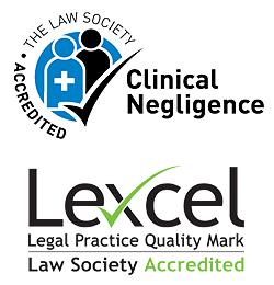 Image of Law Society Clinical Negligence Accreditation logo