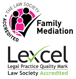 Image of Law Society Personal Family Mediation Accreditation logo